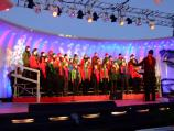 The St. Albans and National Cathedral Schools Choir sang at the Lighting of the National Christmas Tree Ceremony