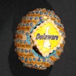 Delaware egg designed by Diana Shelor