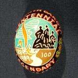 North Dakota egg designed by Stephanie Rodakowski-Yesel