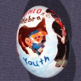 Ohio egg designed by Michael Moscato