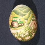 Pennsylvania egg designed by Tiffany Anderson
