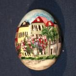 South Carolina egg designed by Jill P. Burriss
