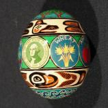 Washington egg designed by Pamela Gompf