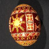 Wyoming egg designed by Jules Webb