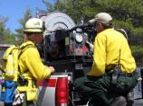 Fire crew at prescribed burn.