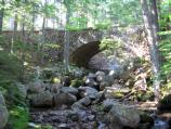 Cobblestone Bridge is one of 17 stone-faced bridges along the carriage road system, but the only one constructed with cobblestones.