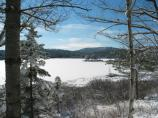Acadia's winter beauty.