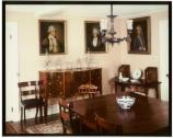The Dining Room of the Old House, part of the original seven rooms of the 1788 home