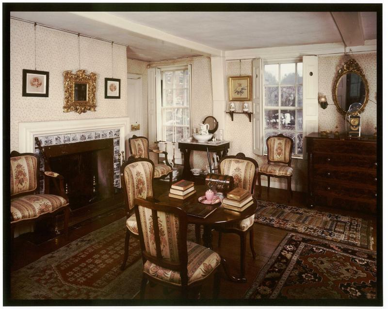 Photo gallery u s national park service for Old home interior pictures