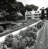 Photograph of the Old House and Garden, 1960s.