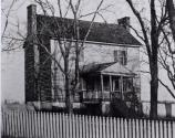 The Peers House as it stood in the 1800s