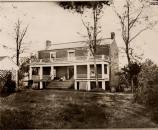 The McLean House as it stood after the surrender