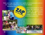Celebrating 30 years of ZAP the Blackstone, the regions most massive river clean up effort.