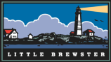 Illustration of Little Brewster Island; part of park-wide logo system.