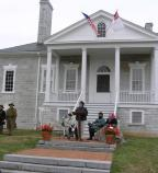 Ceremony of Remembrance held at Belle Grove on October 18, 2009.