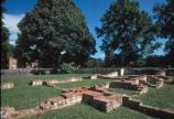 Remains of the 17th-century capital of Virginia are evident on a walk through the New Towne section of Jamestown.