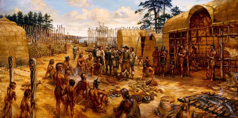the indian uprising in virginia in 1622 Friday 22, march 1622 - the indian massacre  member of the virginia  company, he had arrived at jamestown in september, 1608 aboard.