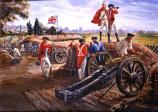 British Artillery Position (Sidney E. King, artist)