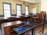 Newly renovated drafting room on the 2nd floor of building 5.