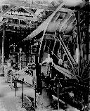 Corliss engine used to power giant rolls at the Concentrating Works, 1895.