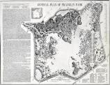 This is the General Plan for Franklin Park that the Olmsted firm submitted in 1885.