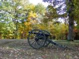 Artillery at Propsect Hill on the Fredericksburg Battlefield