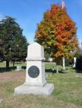 Colonel Joseph Moesch Monument in Fredericksburg National Cemetery