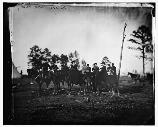 This picture is believed to be Colonel Charles Graham, his staff, and some of the officers wives. Graham commanded a brigade in the 3rd Corps during the Battle of Chancellorsville.