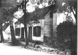 The Ebert House stood along the Telegraph (Sunken) Road. This was the war-time home of Henry and Sophia Ebert. The house was torn down in the 1950's. Note the stone wall.