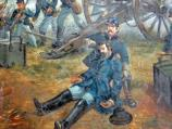 Sketch Depicting Death of Union General John Sedgwick