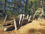 Re-constructed Logworks at Spotsylvania