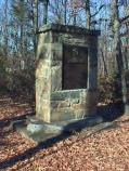 General James Wadsworth Monument on Orange Plank Road on the Wilderness Battlefield