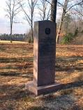 Texas Monument in the Widow Tapp Field on the Wilderness Battlefield