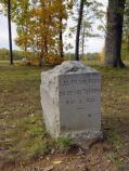 Lee to the Rear Monument in the Widow Tapp Field on the Wilderness Battlefield
