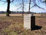 Lee to the Rear Monument in the Widow Tapp Field in the Wilderness Battlefield