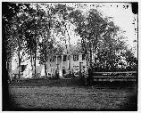Wallack House. This home was used by Major General George G. Meade as the headquarters of the Army of the Potomac. The house and front yard was used by many general officers and staff officers.
