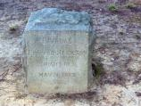 Lee-Jackson Bivouac Monument on the Chancellorsville Battlefield