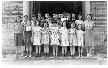 1939 Fort Hancock School Photograph. Bldg 109.