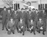 Fort Hancock soldiers of the 526th AA pose for a photograph. c. 1955.