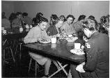 Wacs in Mess Hall