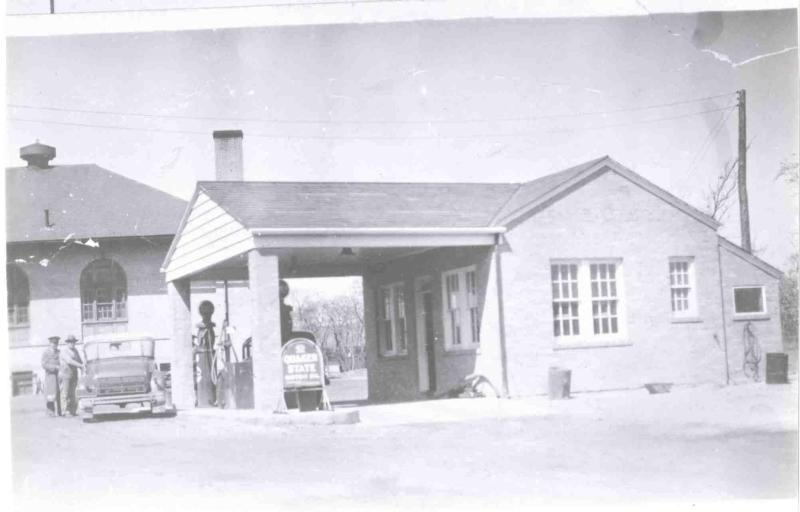 Fort Hancock Gas Station Building 60 1940