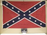Flag representing the 37th North Carolina Infantry, carried in the commemoration of Pickett's Charge at Gettysburg in July 1963.