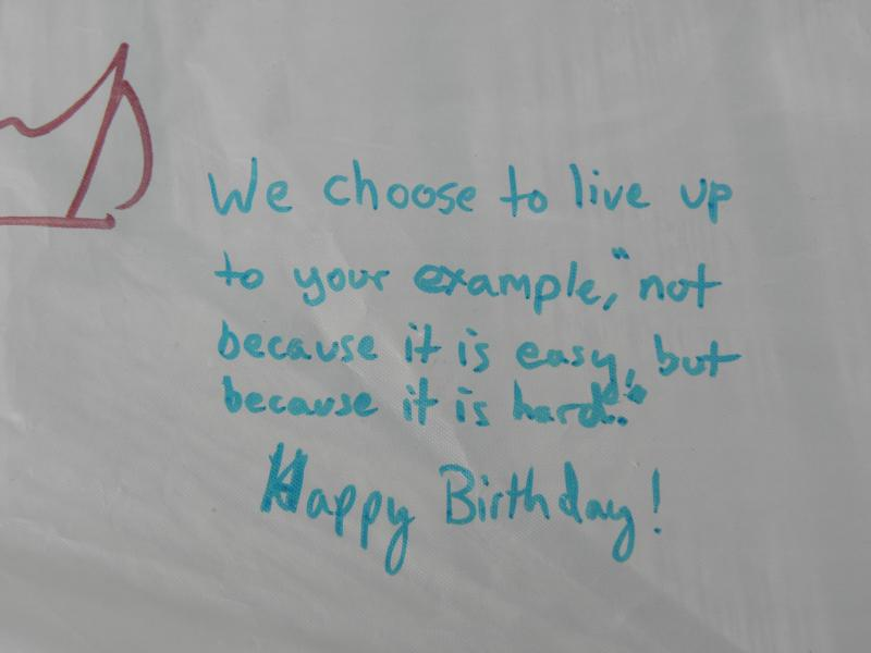 Photo Gallery US National Park Service – Examples of Birthday Greetings