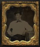 Ambrotype of Charles A. Longfellow, c. 1860.