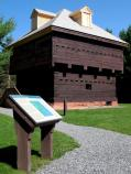 The Fort Kent Blockhouse is an excellent example of early 19th-century military architecture.