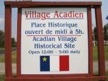 The Acadian Village opened its doors to visitors on July 4, 1976 and is open to the public throughout the summer season.
