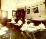 St. Luke employees at work, c. 1917.