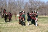 Weapons inspection was done to ensure that muskets were properly cleaned to ensure safety in loading and firing.
