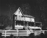 black and white photo of coal camp superintendent's house
