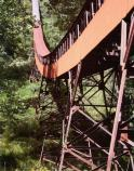 Coal Conveyor on side of gorge